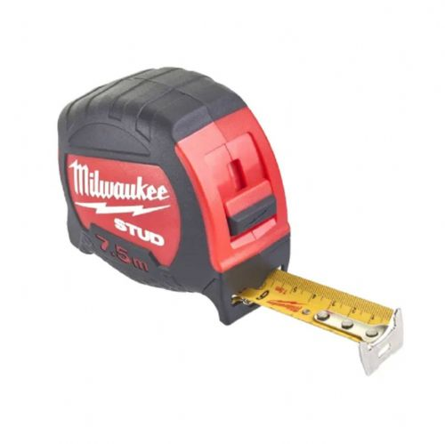 Milwaukee 48229908 STUD™ Tape Measure Metric Only 7.5m (Width 27mm)